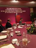 Cena del Jefe Ejecutivo en honor de los Cónsules Generales